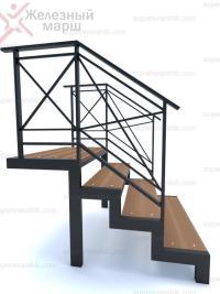 купить металлическую лестницу для дачи уличную
