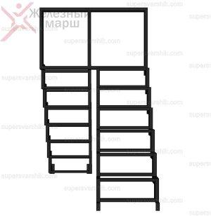 лестница из металла купить в москве