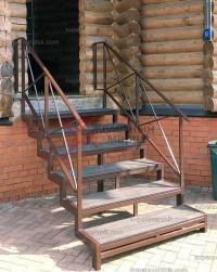 уличная лестница из дпк