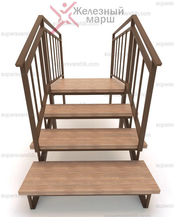 Деревянное крыльцо для дачи