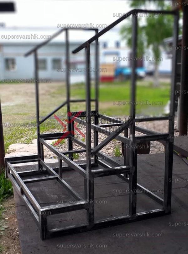 """Каркас уличной лестницы из металла  """"Эко"""""""
