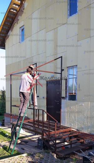 "Каркас лестницы на металле серии ""Руза"""