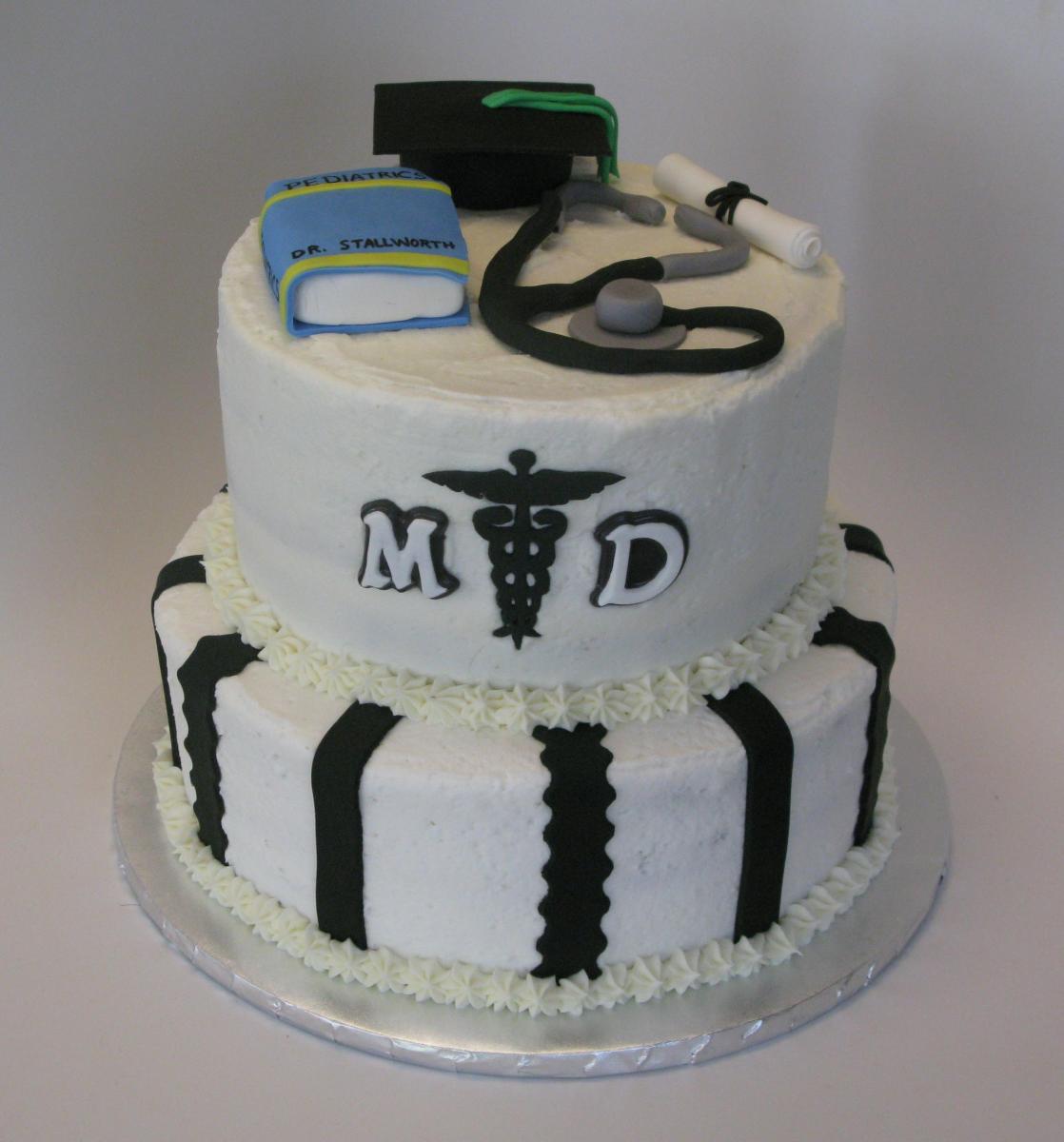 Medical School Graduation Cake