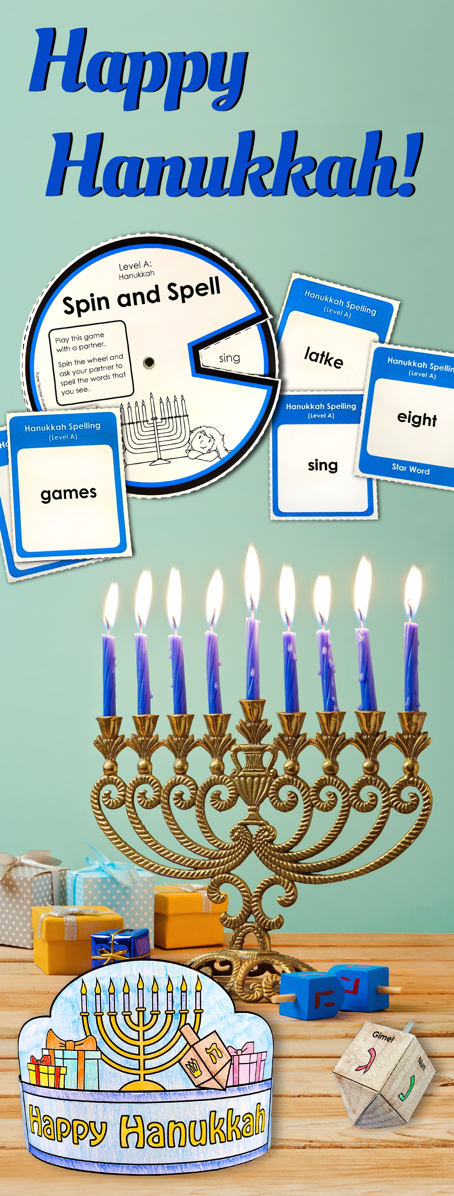 Hanukkah Games And Activities For Kids