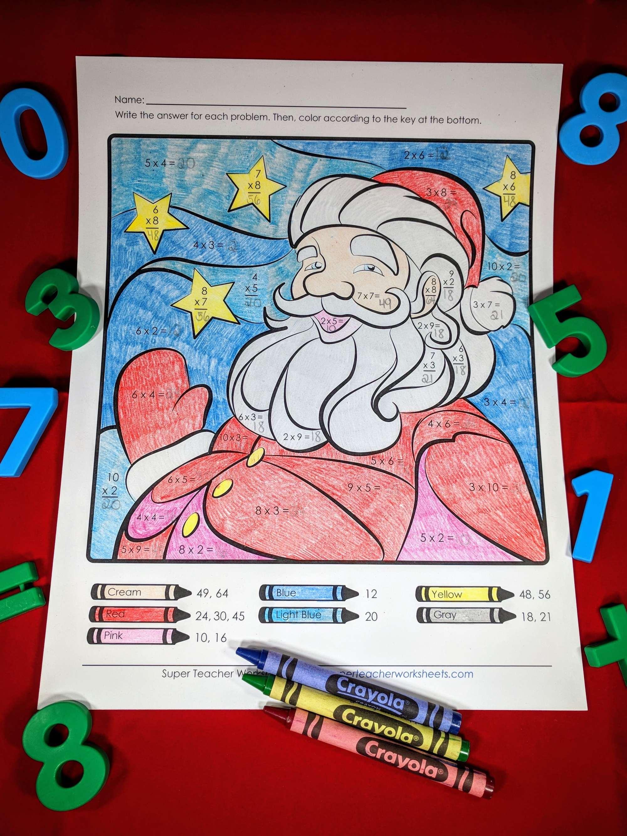hight resolution of Christmas Worksheets \u0026 Activities