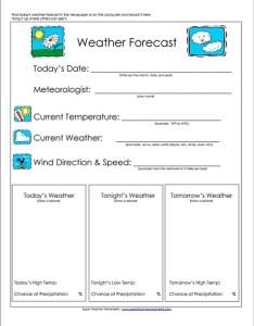 also weather forecast worksheet rh superteacherworksheets