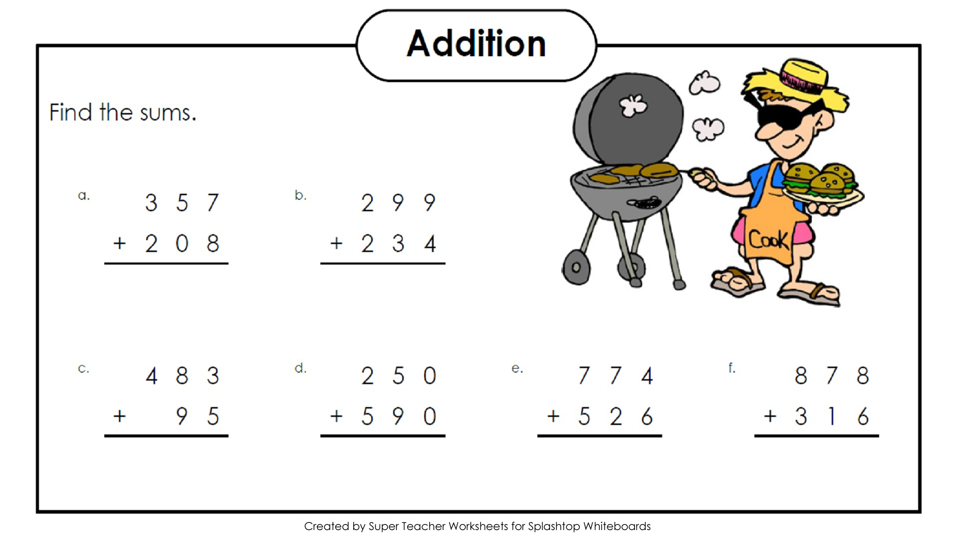 Freebie Three Digit Addition And Subtraction Problems