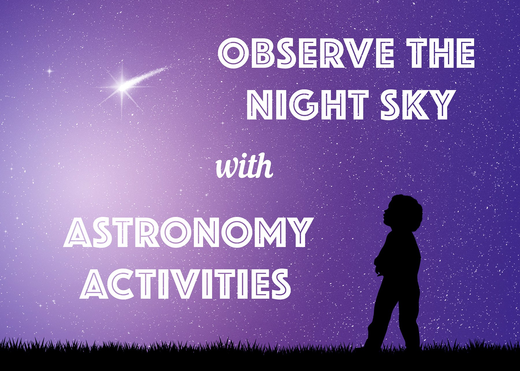 hight resolution of Astronomy Activities for Kids