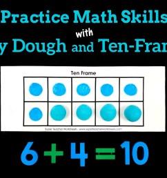 Play Dough Ten Frames [ 1005 x 1500 Pixel ]