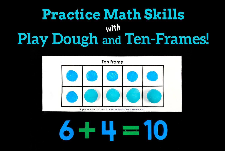 hight resolution of Play Dough Ten Frames