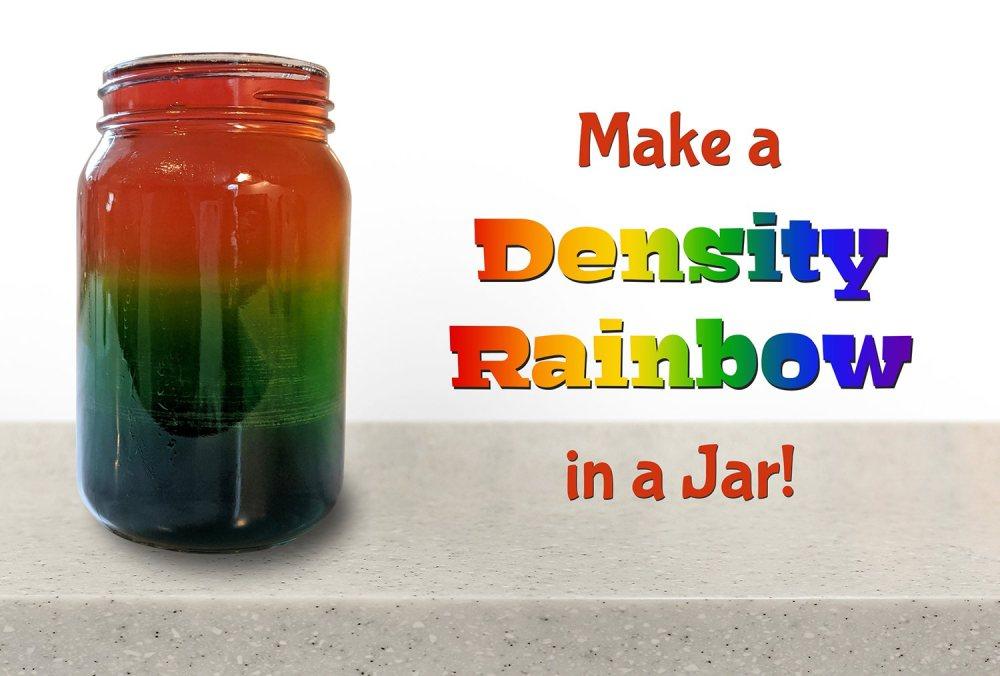 medium resolution of Make a Density Rainbow