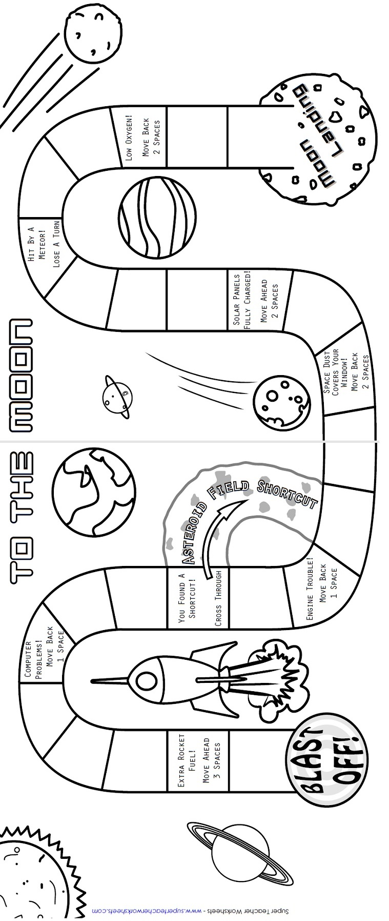 Printable Board Game