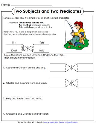 diagramming sentences diagram perko dual battery switch wiring for boat printable grammar worksheets