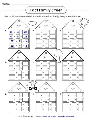 Basic Multiplication (Up to 12s)