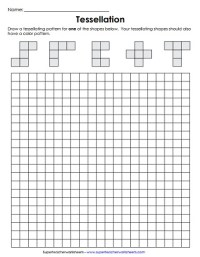 Tessellation Worksheets