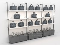 Custom Fashion Wall Mounted Modular Metal Retail Purse ...