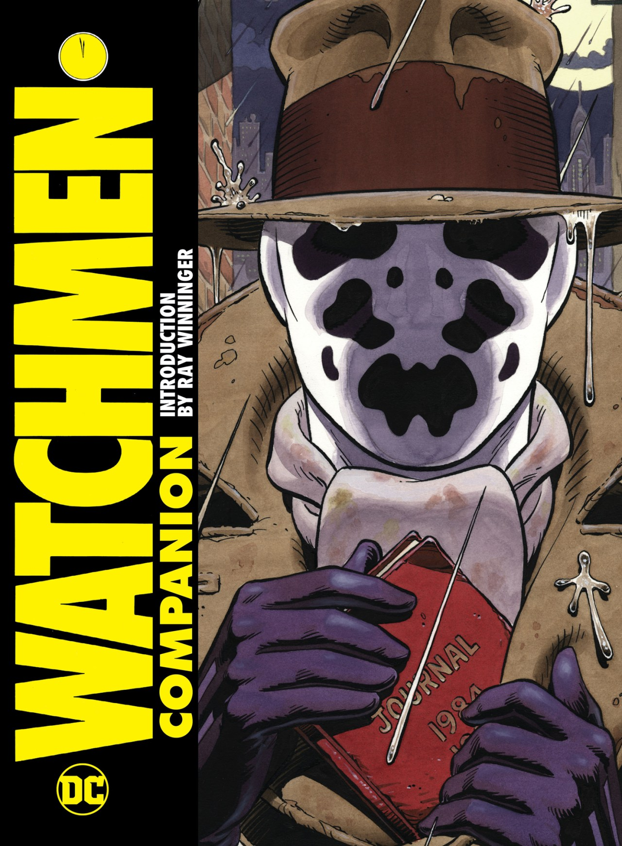 Cover to DC's Watchmen Companion