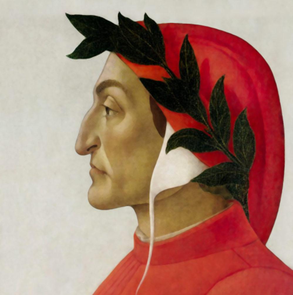 Portrait of Dante by Botticelli