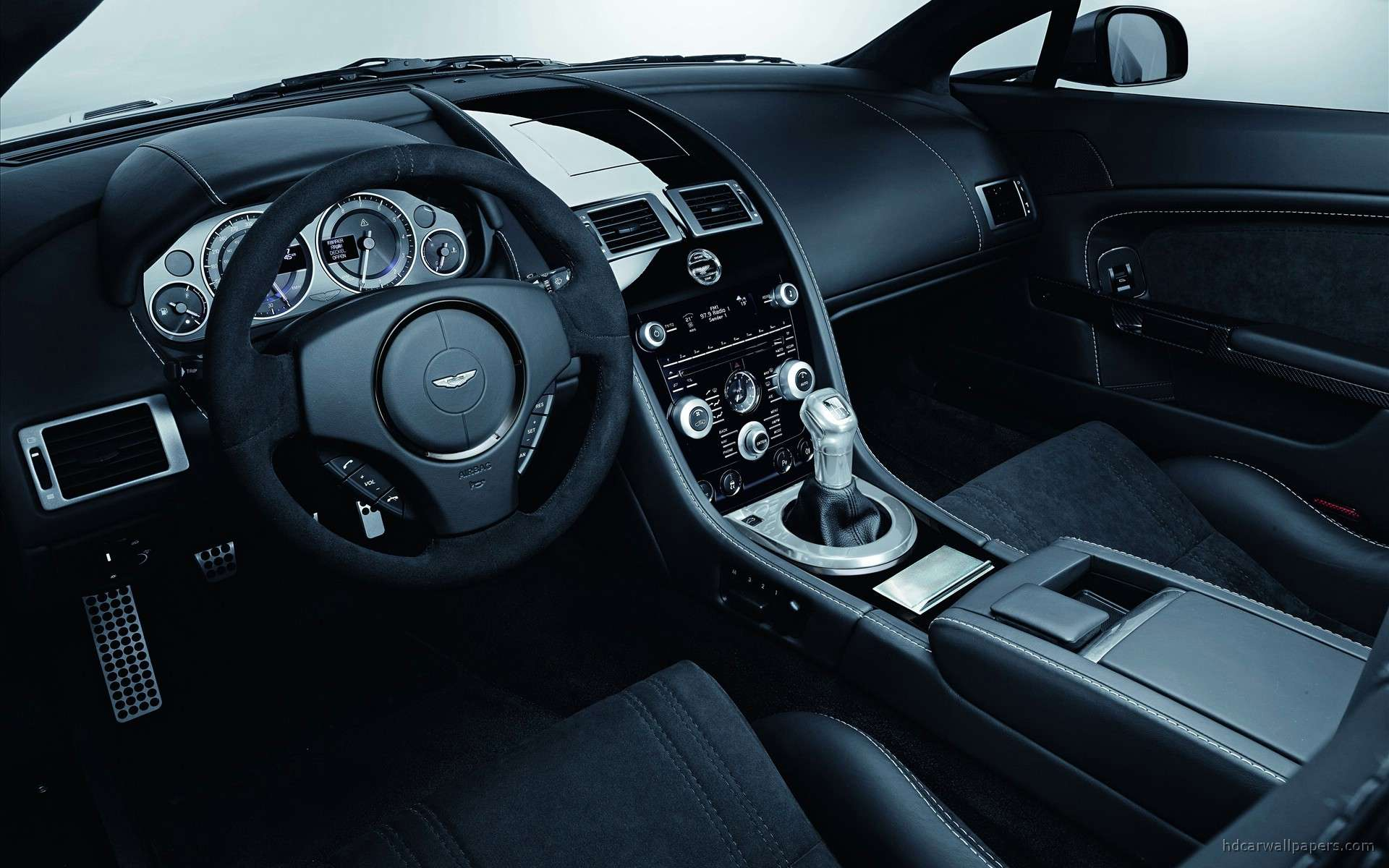 Aston Martin Carbon Black Special Editions Interior Wallpapers Hd