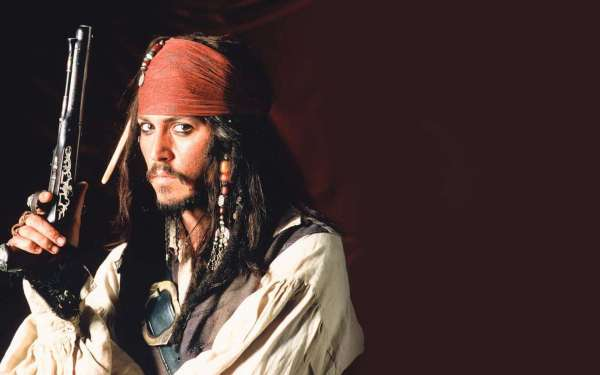 Johnny Depp Jack Sparrow Pirate