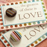 DIY Wedding Favors – Romantic Magnets