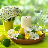 Creative Wedding Ideas - Lemon Centerpieces