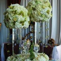 DIY Wedding Centerpieces - Cylinders