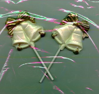 DIY Wedding Favors - Chocolate Bells