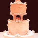 Traditional Wedding Cakes – White Three-Tier