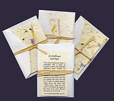 Wedding Favors - Plantable Seed Cards
