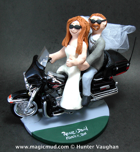 A Harley Theme Wedding