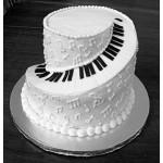 Piano Wedding Cake