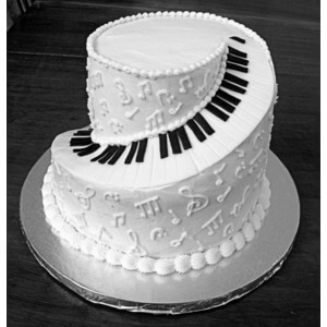 Piano Wedding Cake