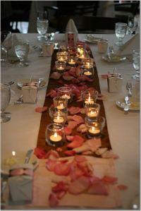 Pink and Brown Wedding - Wedding Colors Theme