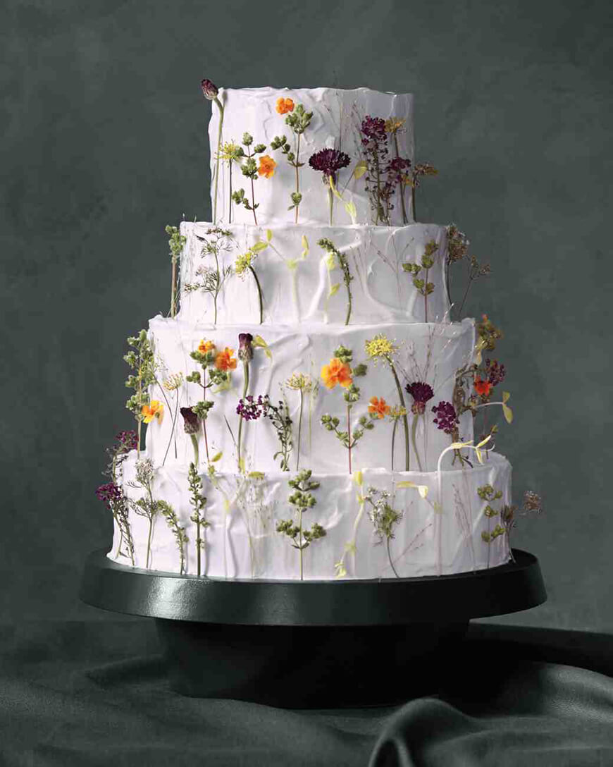 wedding cake flower decoration ideas wedding cake ideas these will leave you breathless 22666