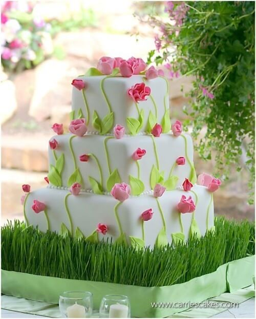 Spring Wedding Cake Ideas - These Will Leave You Breathless!