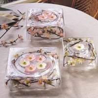 Spring Wedding Centerpieces - Square Bowls