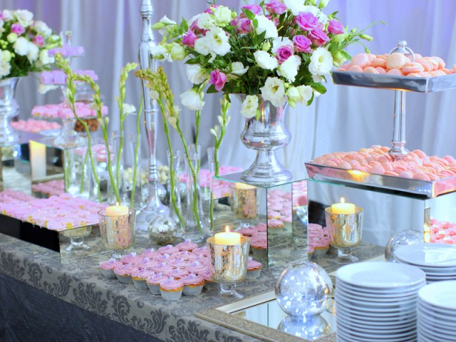 Wedding Reception Dessert Table