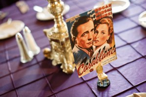 Wedding Table Names from Movies