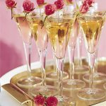 Rose Champagne Signature Wedding Reception Drink