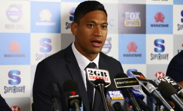 Israel Folau has been served notice