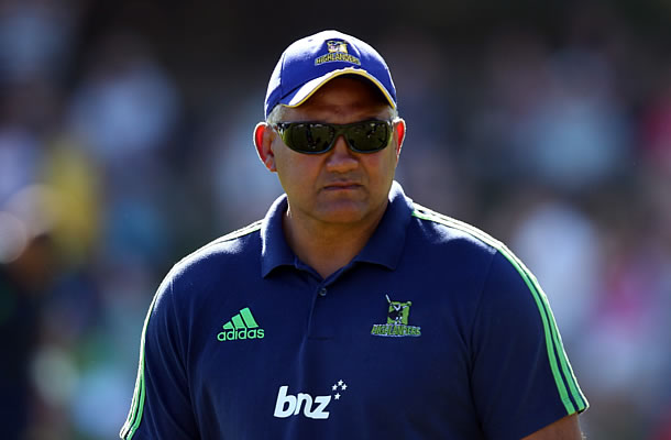Jamie Joseph will leave the Highlanders after Super Rugby