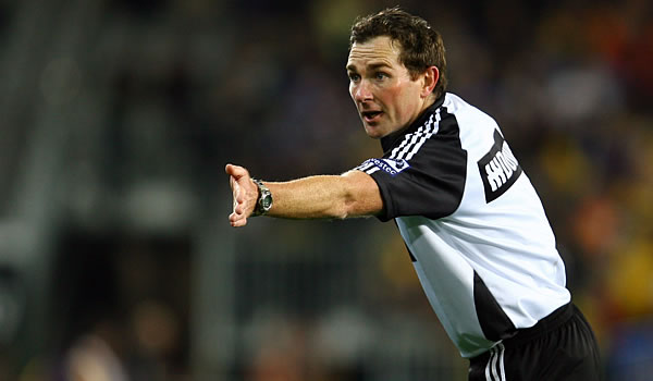 New Zealand Super rugby  Referee Glen Jackson