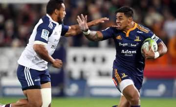Malakai Fekitoa in action for the Highlanders when they last met