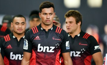 Ben Volavola starts for the Crusaders this week