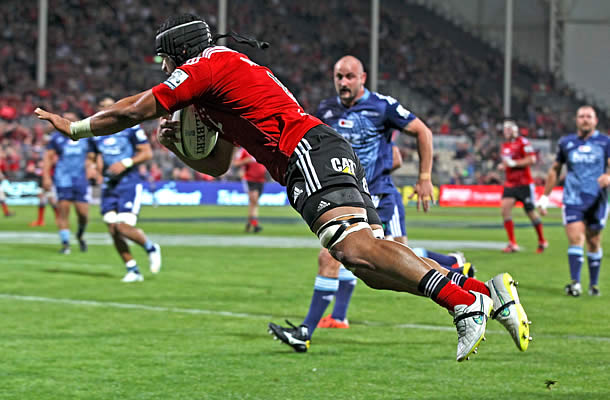 Jordan Taufua will leave the Crusaders after the super rugby season