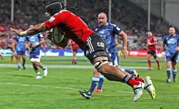 Jordan Taufua will captain the Crusaders