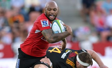 Lionel Mapoe will play his 100th Super rugby game for the Lions