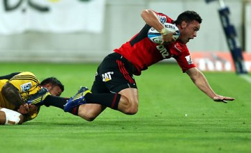 The midfield Super rugby combination of Ryan Crotty (pictured) and Tim Bateman remains unchanged