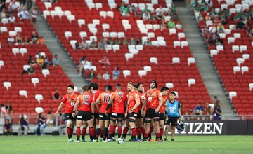 The Sunwolves are back in Singapore this weekend